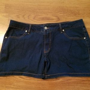 Sz plus soft jean shorts